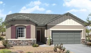 Las Vegas New Homes in  Highgate at Providence Warbler Model