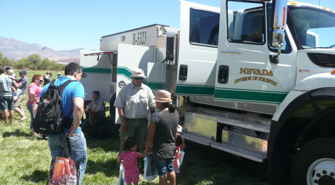 Helicopter, Safety Trucks, Car Day and Water on the Meadow-Slip & Side