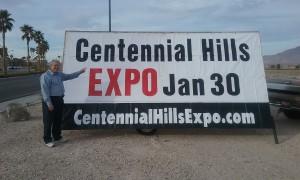 Centennial Hills Street Sign