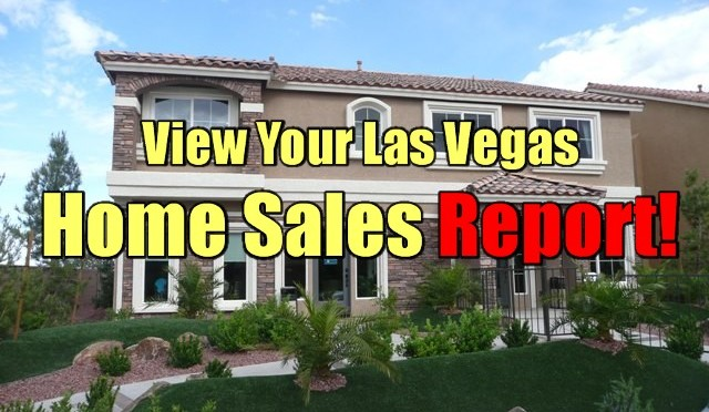 Las Vegas Home Sale Report