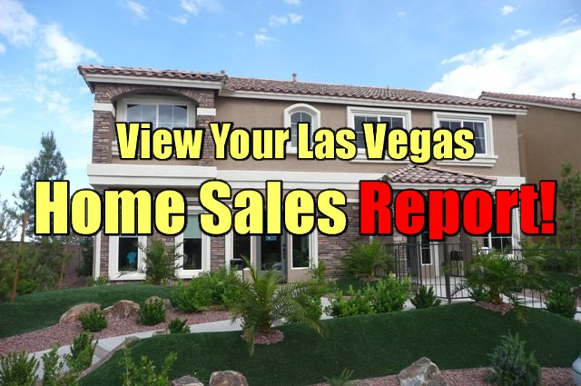Las Vegas Home Sale Report