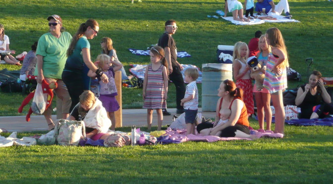 Highlights of Centennial Hills Movie in the Park July 2016